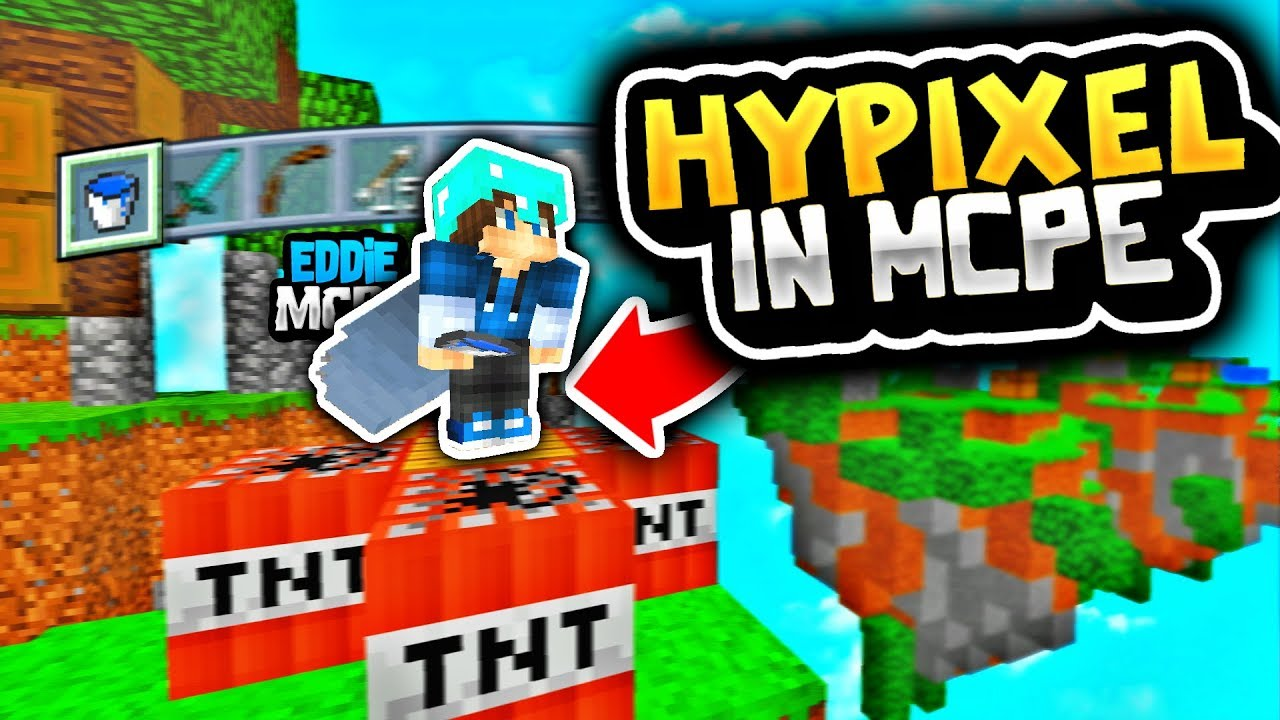 HOW TO GET HYPIXEL IN MINECRAFT PE 1 2 - HOW TO GET HYPIXEL SERVER ON MCPE  1 2 0/1 2 1/1 2 3 [ #2 ]