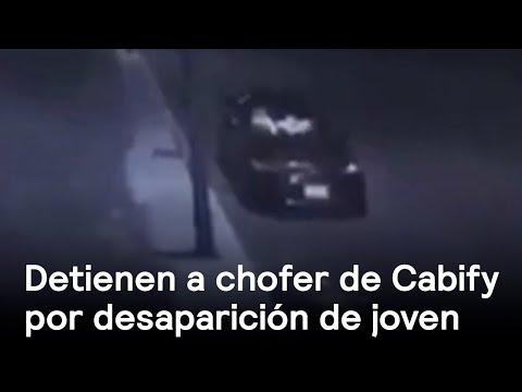 Chofer de Cabify detenido por desaparición de joven - Inseguridad - En Punto con Denise Maerker