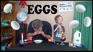 Simple experiments with Eggs – Make Science Fun