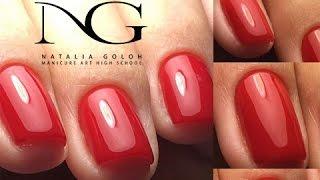 Курсы классического маникюра и дизайнов в Москве: пострелиз / Classic manicure and nail art