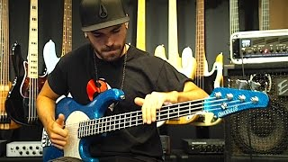 EXTREME SLAP BASS SOLO VOL 2 (by Miki Santamaria) - With TABS! Modulus Funk Unlimited