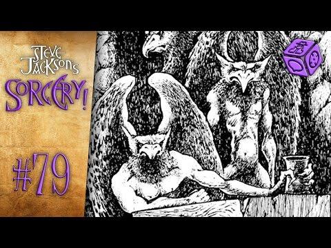 Different sorts of Birdmen - Let's Play Steve Jackson's Sorcery! #79