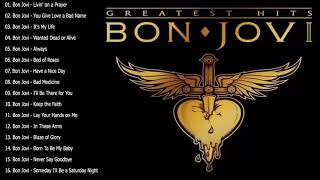 Bon Jovi Greatest Hits Full Album - Best Songs Of Bon Jovi Nonstop Playlist