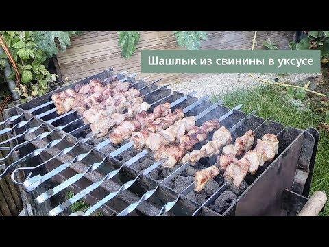шашлык из свинины в уксусе (Schaschlik)