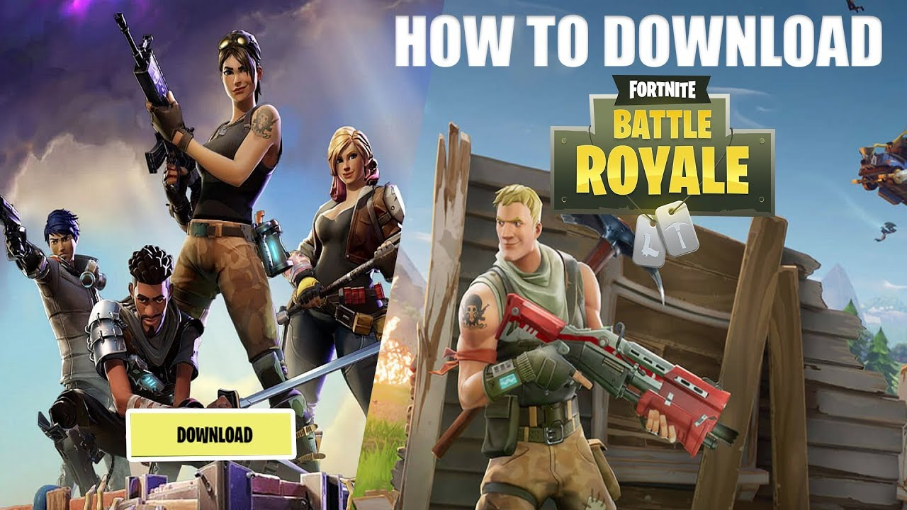 How To Download FORTNITE Battle Royal On Computer For ...