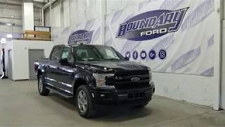 2018 Ford F-150 SuperCrew Lariat Sport 502A W/ Shadow Black Overview | Boundary Ford