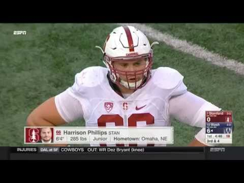 Stanford vs Washington football 2016 Week 5