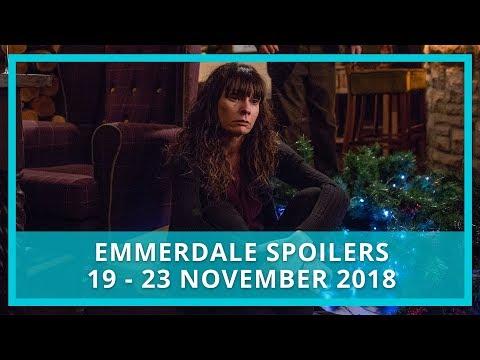 Emmerdale Spoilers | 19th - 23rd November 2018