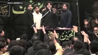 zakir syed imran haider kazmi  Reza e najaf 01 Muharram  2013