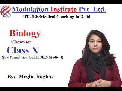 Class 10th Biology | Cell | Full lecture | Pre foundation NEET /AIIMS - By: Megha Raghav |Modulation