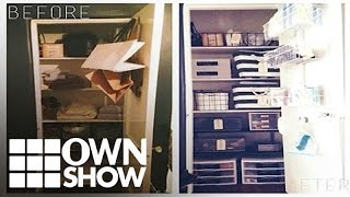 How To Keep Your Linen Closet From Disaster | #ownshow | Oprah Winfrey Network