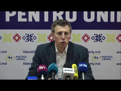 Conferință de presă susținută de Dorin Chirtoacă