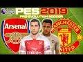 Arsenal vs Man Utd Prediction | English Premier League 10th Mar | PES 2019 Gameplay