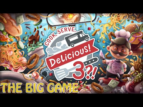 Cook, Serve Delicious! 3?! | Achievement [THE BIG GAME] |