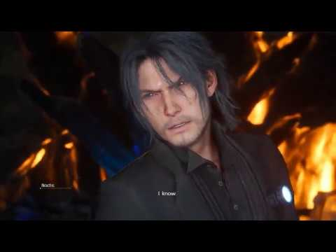 Final Fantasy XV [PC] - Swapping character models - Older party in Lucis