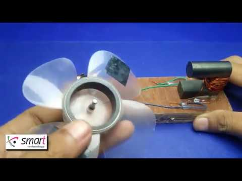 Free energy  Fan  copper wire with magnets | Smart Technology