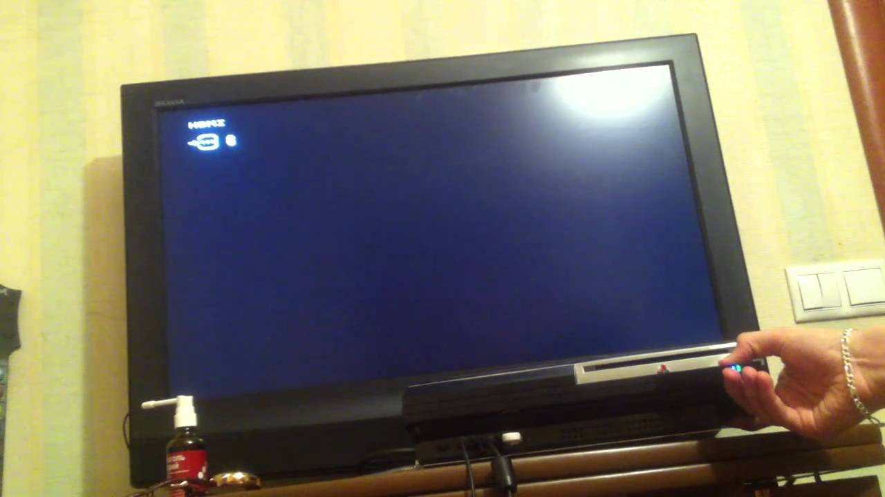how to put ps3 in recovery mode