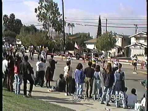 Barstow Junior High School Band @ the 1994 Buckboard Parade