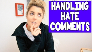 HANDLING HATE COMMENTS (Q+A) // Grace Helbig