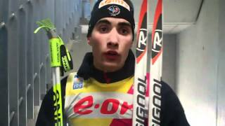 Men's Pursuit Medalists plus Comments from  World Champion Martin Fourcade