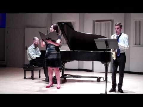 Senior Recital:  Le Chant du Veilleur by Joaquin Nin