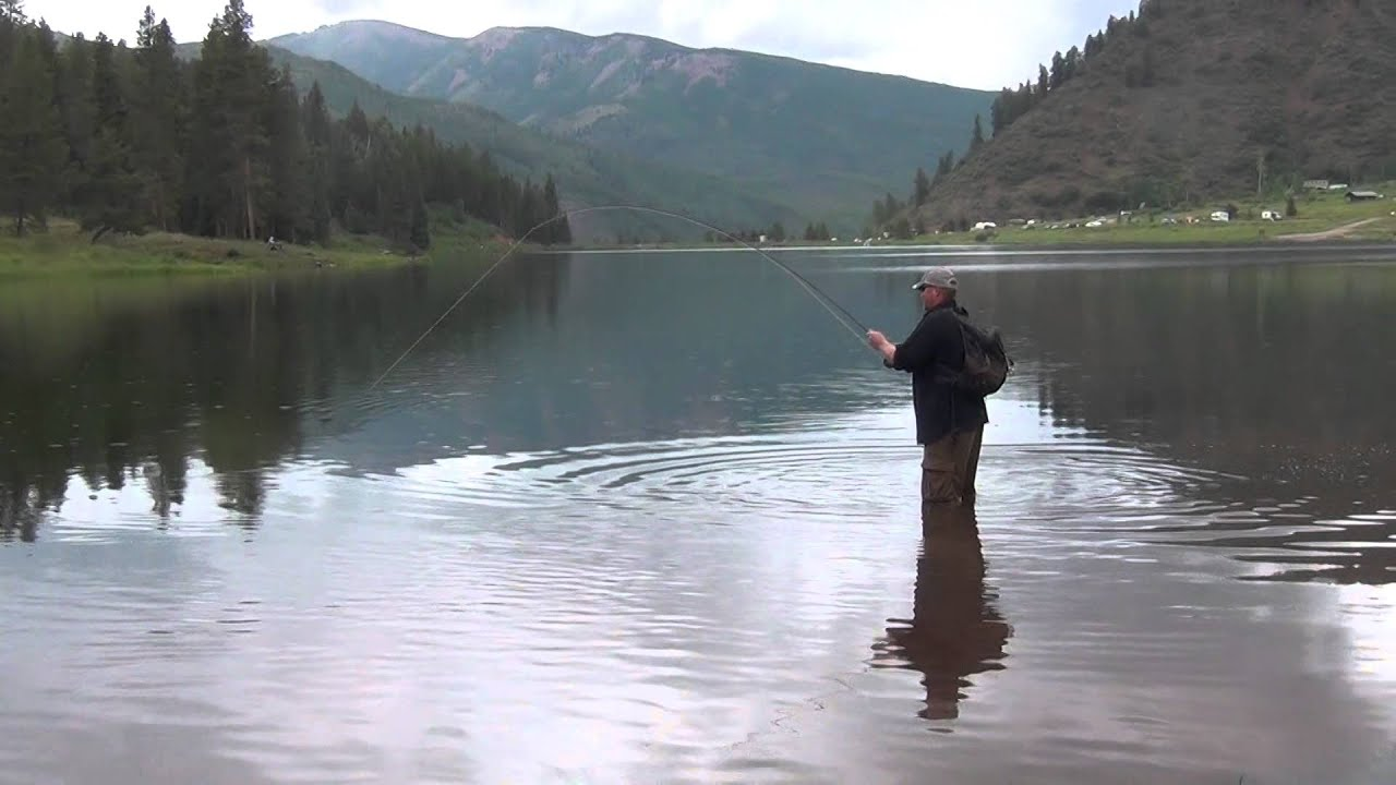 Epic rainbow trout fly fishing battle at sylvan lake state for Sd fishing license