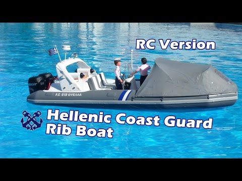 CVP - RC Hellenic Coast Guard Rib Boat