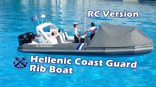 CVP - RC Hellenic Coast Guard Rib Boat