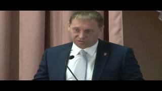 Павел Воронин открывает совещание в Туле