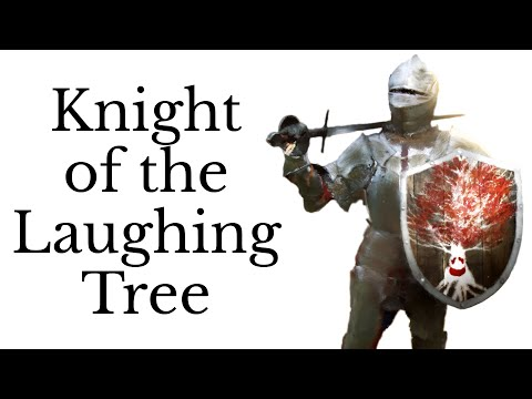 Who is the Knight of the Laughing Tree?