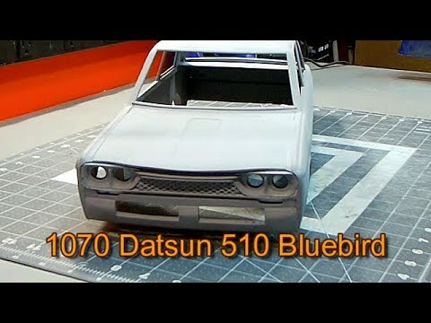 Datsun 510 Bluebird 5 Grill Taillights And Spoiler Youtube