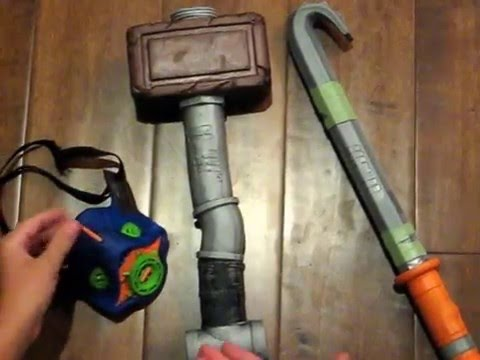 Nerf Zombie Strike Zed Squad Crow Bar Combat Kit Review Youtube