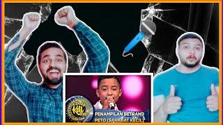 Indian reaction on Terkeren! Penampilan Betrand Peto [SAHABAT KECIL] - WildCard KDI (19/8)