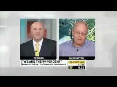 OWS Hating CBC Anchor Destroyed By Chris Hedges