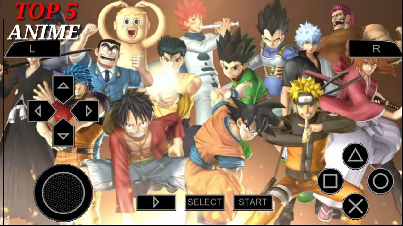 Psp games anime top {Updated} Top