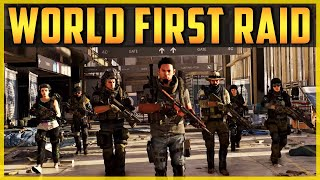 The Division 2 | WORLD FIRST RAID! Last 5 minutes