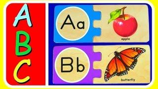 Learn ABC Alphabet ABC Puzzles!  FUN ABC Alphabet Puzzles Video For Preschool Kids, Toddlers, & Babi