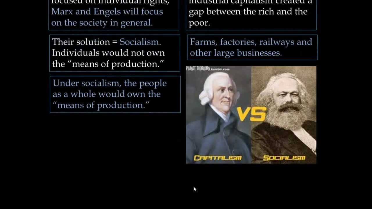 marxism vs capitalism The capitalist mode of production may exist within societies capitalism as this money-making activity has existed in the shape western marxism and the.