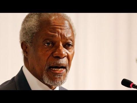 Kofi Annan dead at 80 - YouTube