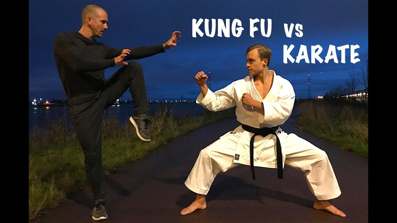 kung fu vs karate street fight youtube