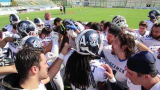 Seamen vs Panthers road to  Italian Bowl 2017