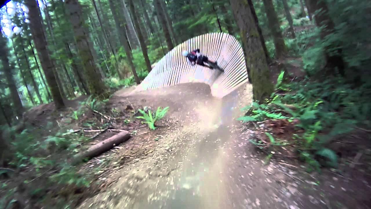 Gerk's Line at Duthie Hill Mountain Bike Park - YouTube on