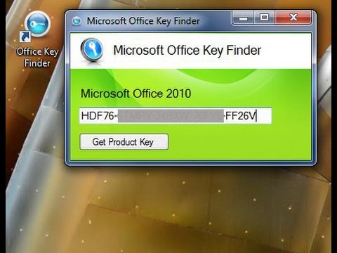 how to find office product key 2010