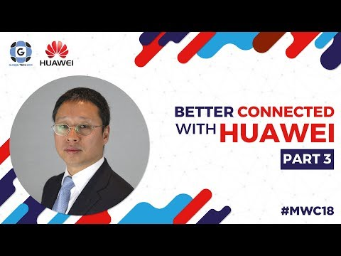5G Microwave Backhaul explained by Richard Jin / Better Connected with Huawei MWC18 streaming vf