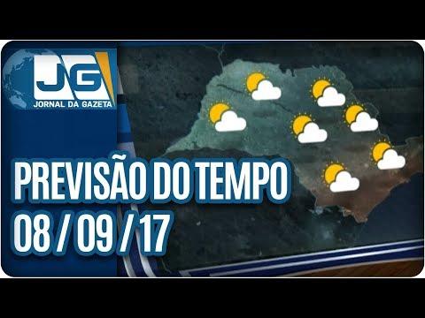 Previsão do Tempo - 08/09/2017