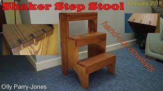 Dovetailed Shaker Step Stool (circa. 2006)
