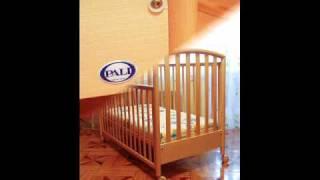 Детская кроватка Pali из натурального дерева (Италия)