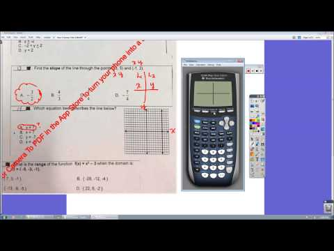ALGEBRA 1 STAAR EOC TEST REVIEW 1 - 2 WEEKS BEFORE STAAR TEST - YouTube
