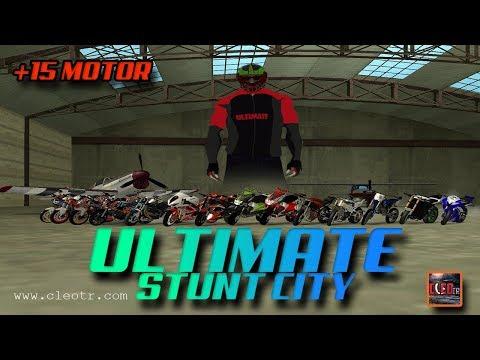 Gta San Andreas #184 | Ultimate Stunt City | +15 MOTOR | Tanıtım | Kurulum | Download
