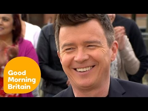Rick Astley On His Brand New Number One Album 50 | Good Morning Britain